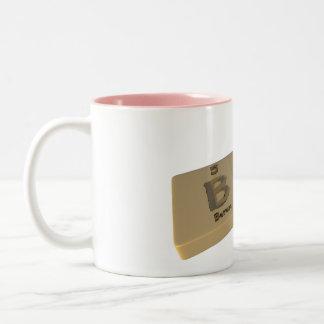 Bのほう素とヒ素としてBas ツートーンマグカップ