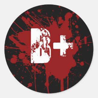 Bの前向きな血液型寄付の吸血鬼のゾンビ ラウンドシール