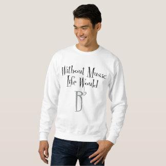 Bの平らな人の基本的なスエットシャツ スウェットシャツ