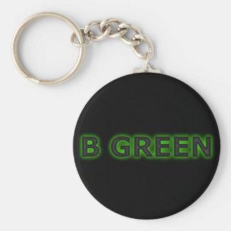 Bの緑 キーホルダー
