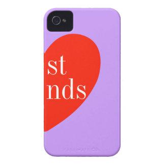 bのiPhoneケースに一致させている4人の紫色の親友 Case-Mate iPhone 4 ケース