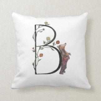 Bはくまおよびベゴニアの枕のためです! クッション