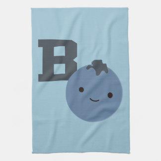 Bはブルーベリーのためです キッチンタオル