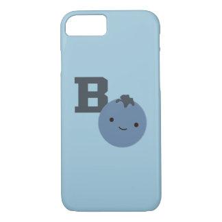 Bはブルーベリーのためです iPhone 8/7ケース