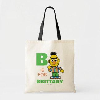 Bは|があなたの名前を加えるバートのためです トートバッグ