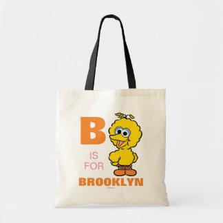 Bは|があなたの名前を加える大きい鳥のためです トートバッグ