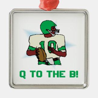 BへのQ メタルオーナメント