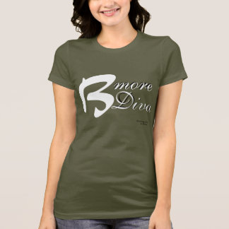 Bより多くの花型女性歌手のTシャツ Tシャツ