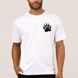 B及びW -フィットネスのワイシャツの豪華で陽気なくま爪 Tシャツ