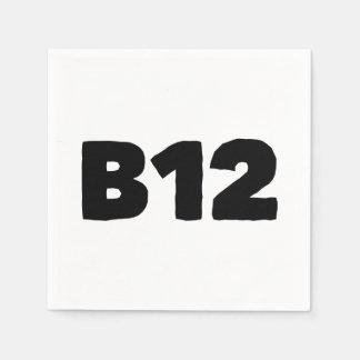 B12 スタンダードカクテルナプキン