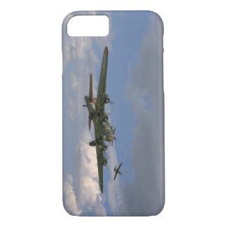 B17の前部右のAngle_WWIIの飛行機 iPhone 8/7ケース