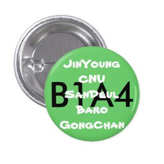 B1A4ファンボタン 3.2CM 丸型バッジ