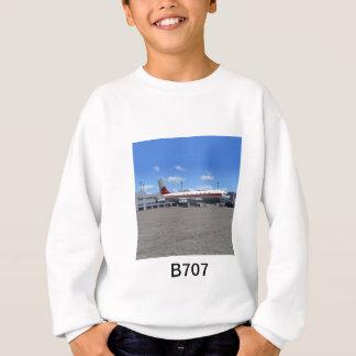B707平らなTシャツ スウェットシャツ