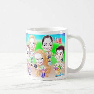 B.相談の風刺漫画のマグ コーヒーマグカップ