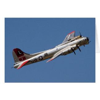 B-17 Gのヤンキーの女性 カード