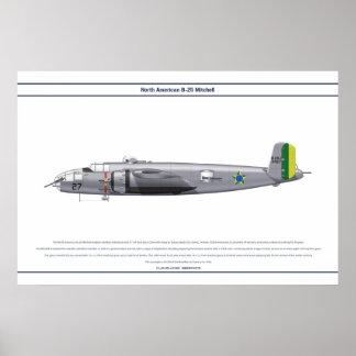 B-25ブラジル1 ポスター