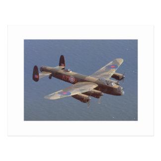 B-25爆撃機航空機 ポストカード