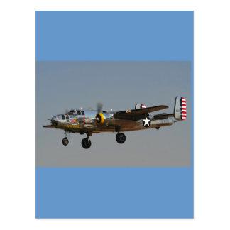 B-25爆撃機 ポストカード