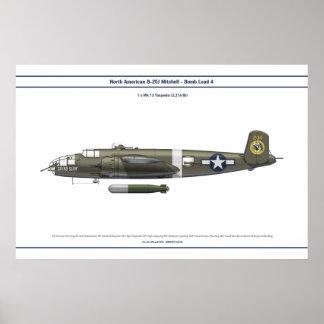 B-25負荷4 ポスター