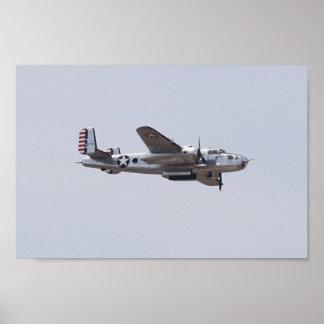 B-25 ポスター