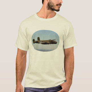 B-25 Mitchellの爆撃機のワイシャツ Tシャツ