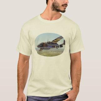 B-25 Mitchellの爆撃機2のワイシャツ Tシャツ