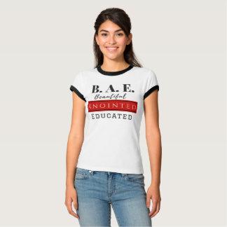 B.A.E. 教育がある塗られる美しい(クリスチャン) Tシャツ