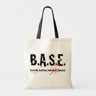 B.A.S.E. 跳躍のSkydiver トートバッグ