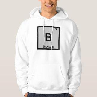 B - Brocktonマサチューセッツ化学記号都市 パーカ