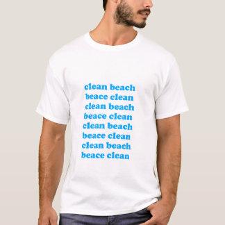 beace clean Ver.3 クリーンビーチ Tシャツ