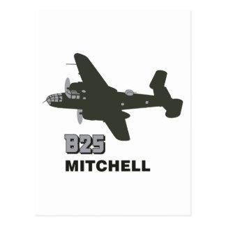B MITCHELL ポストカード