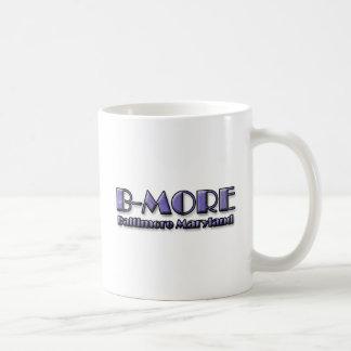 B-MOREボルティモアメリーランドのロゴ コーヒーマグカップ
