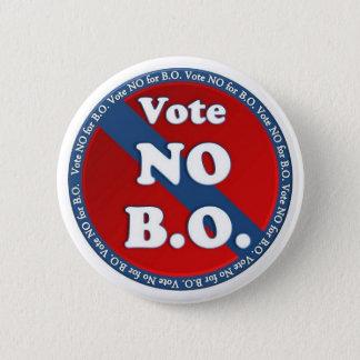 B.O.のためにいいえ投票しないで下さい 5.7CM 丸型バッジ