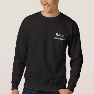 B.P.Iの調査官のジャンパー スウェットシャツ