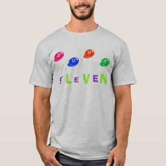 B、U、N、K、E、L、E、V、E、N Tシャツ