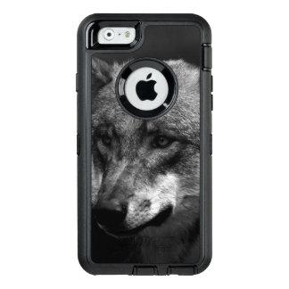 B&Wのオオカミ オッターボックスディフェンダーiPhoneケース