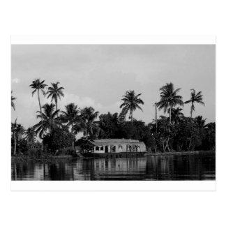B&Wのハウスボート ポストカード