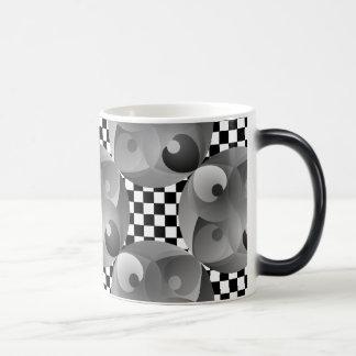 B/Wのバランスの変形させるマグ モーフィングマグカップ
