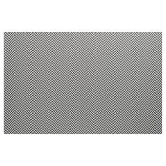 """B&Wのヘリンボンによってとかされる綿(56""""幅)の生地 ファブリック"""