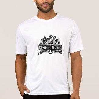 B/Wのロゴのスポーツ技術のワイシャツ Tシャツ