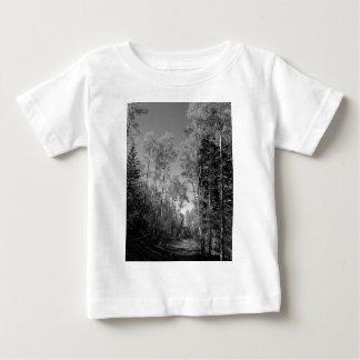 B&Wの《植物》アスペン4 ベビーTシャツ