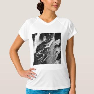 B&Wイグアスの滝 Tシャツ