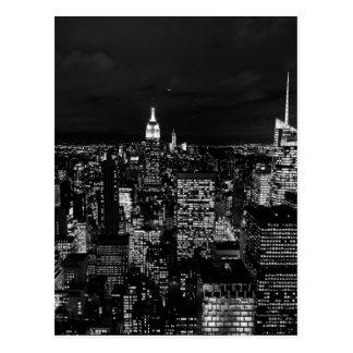 B&Wニューヨークシティ ポストカード