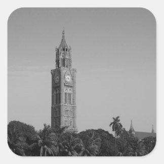 B&W Rajabaiの時計台 スクエアシール