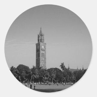 B&W Rajabaiの時計台 ラウンドシール