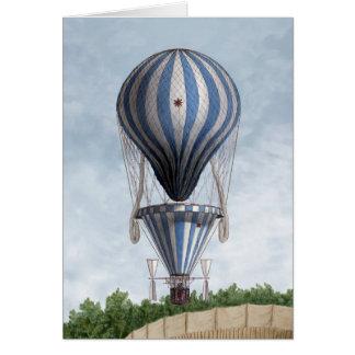 BA2305FAC01ZフランチェスコOrlandiのプロペラの気球 カード