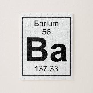 Ba -バリウム ジグソーパズル
