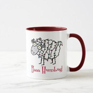 Baaaのばかばかしいクリスマスのマグ マグカップ