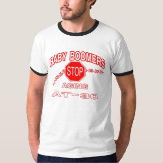 babbyブーマー停止老化 tシャツ