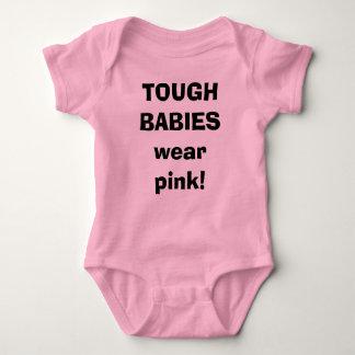 BABIESwearの堅いピンク! ベビーボディスーツ
